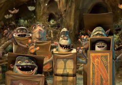 پشت صحنه ی انیمیشن باکس ترولز