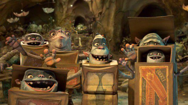 انیمیشن باکس ترولز