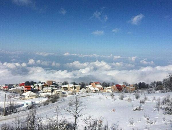 بارش برف امسال استان 88 درصد کمتر شد