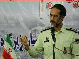 آمادگی کامل پلیس برای تامین نظم و امنیت انتخابات میاندوره ای مجلس در غرب گلستان