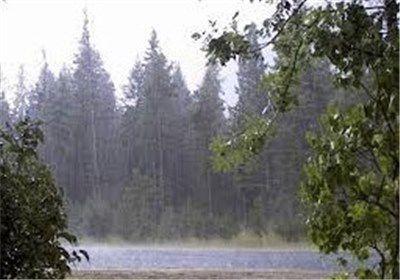 ادامه بارش باران در گلستان