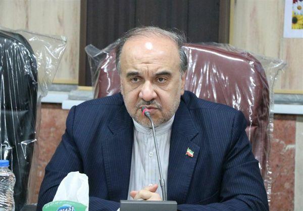 وزیر ورزش در بندر ترکمن: حدود ۱۳۳ میلیارد تومان اعتبار برای طرحهای ورزشی در گلستان اختصاص یافت