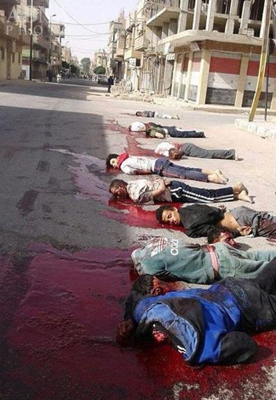 عکس/ اعدام وحشیانه در شهر «تدمر» سوریه
