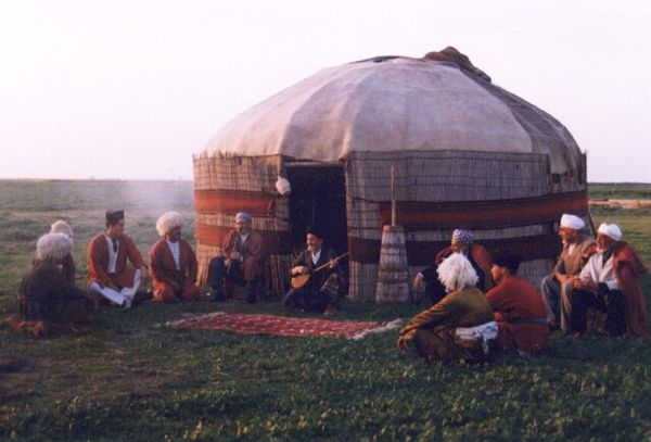 آلاچیق سنتی ترکمنها چگونه ساخته میشود؟