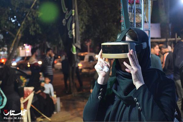 گزارش تصویری / شب هشتم موکب جاماندگان پیاده روی اربعین حسینی