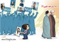 کاریکاتور / تغییر ۱۸۰ درجه ای افراد دارای انگیزه های تند انقلابی!؟
