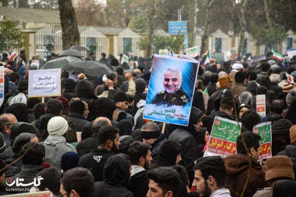 فجر سلیمانی در گلستان با شکوه خاصی برگزار شد+گزارش تصویری