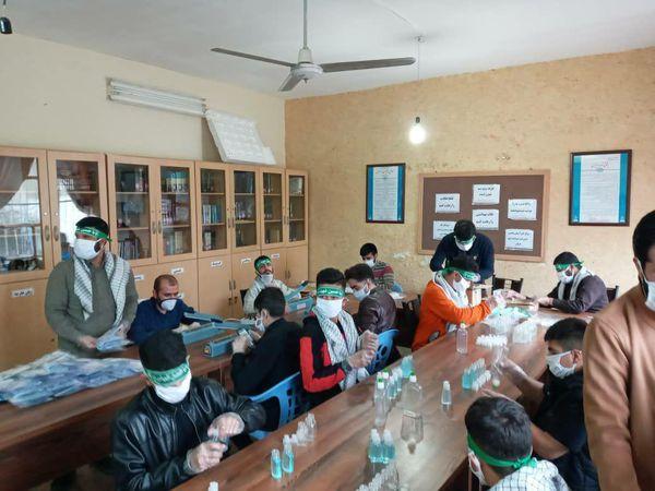 فعالیت روزانه قرارگاه مردمی شهدای سلامت استان گلستان/تصاویر