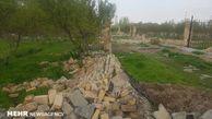 رفع تصرف بیش از ۷۰۰۰ متر از اراضی ملی در رامیان
