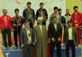 گلستان نائب قهرمان تنیس روی میز پیام نور کشور شد + تصاویر