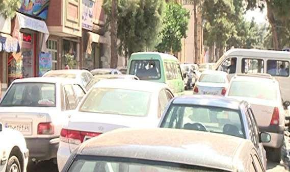 ترافیک در کوی تختی گرگان معضلی مهم برای ساکنان و عابران