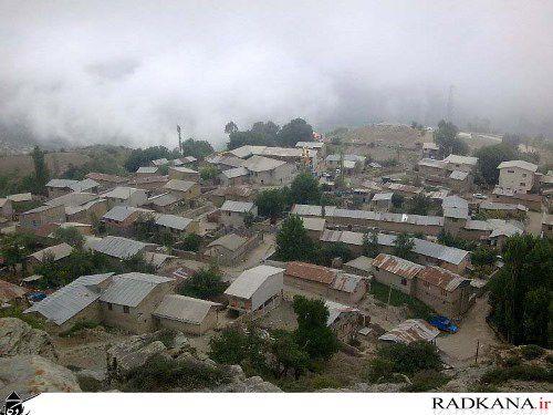 روستای کوهستانی و خوش آب و هوای رادکان+تصاویر