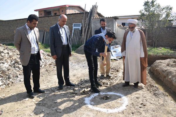 بازسازی یک واحد مسکونی آسیبدیده از سیل در شهر آققلا