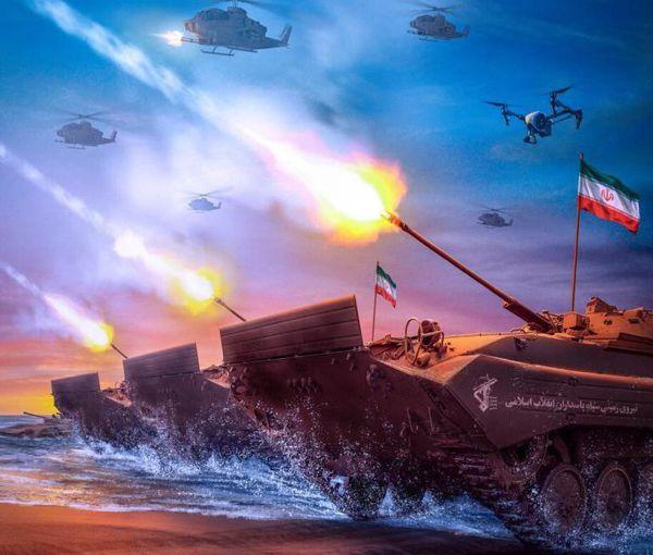 اولین رزمایش تهاجمی سپاه در خلیج فارس