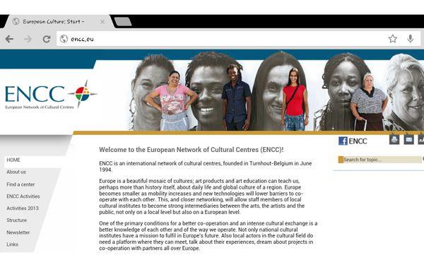 شبکه آنلاین مراکز فرهنگی اروپا    ENCC