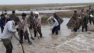تلاش ۱۵۰ نفر از گروههای جهادی در مناطق سیل زده گلستان