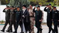 عکس/ حضور رهبرانقلاب در دانشگاه افسری امام حسین(ع)