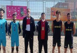 نمایندگان گلستان در رقابت های والیبال ساحلی کشور صعود کردند