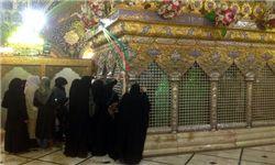 حرم حضرت رقیه(س) در شب شهادتش+تصاویر