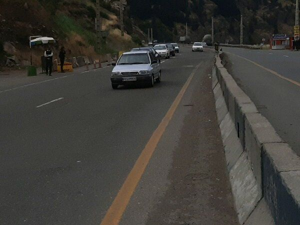 ترافیک جاده های گلستان روان است