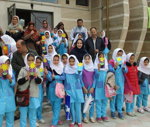 برگزاری جشن روز پدر و میلاد حضرت علی (ع) در گمیشان + تصاویر