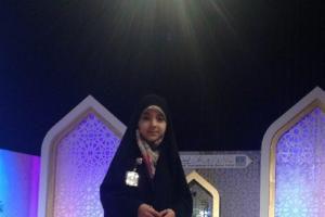 «حنانه خلفی» مورد توجهترین چهره این روزهای دبی