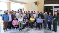 برگزاری اردوی تفریحی کانون سازمان بسیج مداحان استان گلستان
