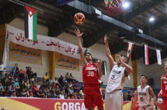شروع طوفانی بسکتبال نوجوانان ایران در مسابقات غرب آسیا