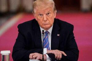 فیلم/ مخالفت خبرنگار با درخواست عجیب ترامپ