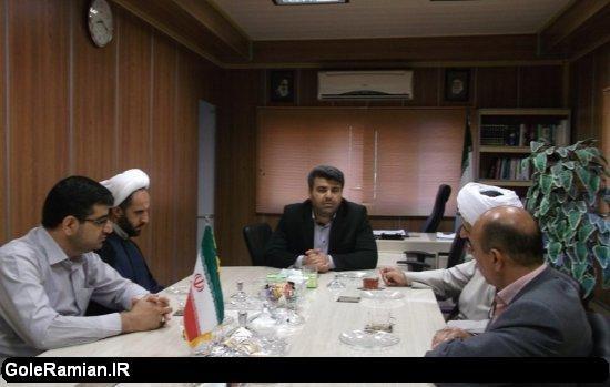 معارفه رئیس جدید اداره تبلیغات اسلامی شهرستان رامیان+عکس