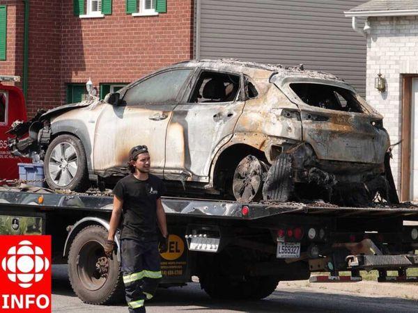 انفجار اولین هیوندای کُنا الکتریکی در پارکینگ + عکس
