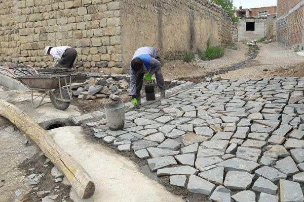 اجرای ۲۲۰ پروژه زیرسازی معابر روستایی در قالب اجرای پروژه های طرح هادی