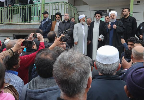 رئیس جمهور در جمع مردم سیلزده آققلا: گلستان را به روز اول باز میگردانیم/دولت در کنار شماست