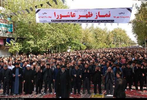 عاشورای حسینی در مرکز گلستان
