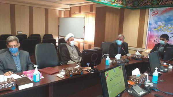 جلسه شورای اقامه نماز شرکت آب و فاضِلاب استان گلستان برگزار شد