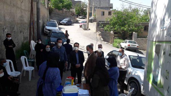 پایگاههای واکسیناسیون روستایی در آزادشهر راه اندازی شد