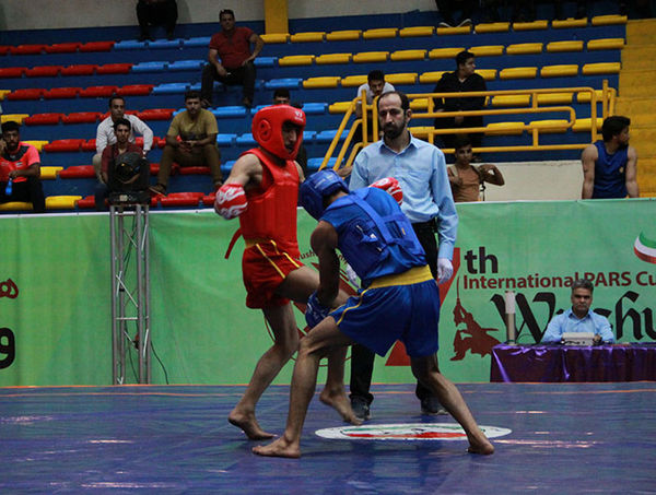 پیگیری دومین روز رقابت های بین المللی ووشو جام پارس در گرگان