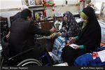 اشکهای امالبنین کرمان برای امالبنین کربلا + تصاویر