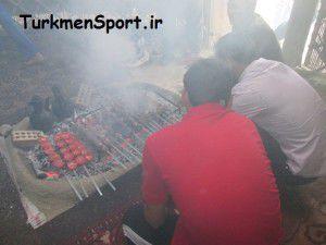 مهمانی مجلل باشگاه ورزشی تعاون گنبد در روز اربعین حسینی!