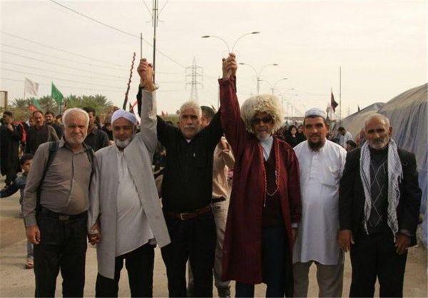 عاشقانه ترکمنها در قافله حبالحسین