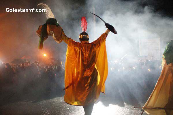 شام غریبان شهرستان کردکوی در زیر باران الهی( سری اول)