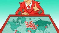 کاریکاتور / گلزنی رونالدو به چهل کشور دنیا!