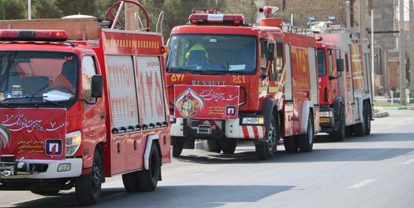 ایستگاه شماره 7 آتشنشانی در ویلاشهر گرگان افتتاح شد