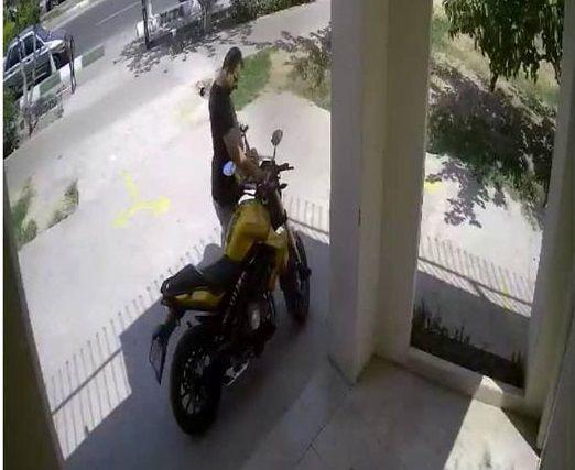 دزد سه ثانیه ای در دام قانون افتاد + عکس