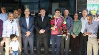 مسئولان گلستان از ورزشکاران مدال آور آسیایی استقبال کردند