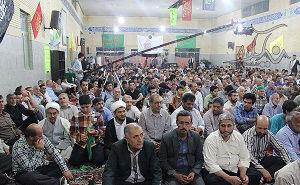 گزارش تصویری /یادبود اولین شهید مدافع حرم استان گلستان