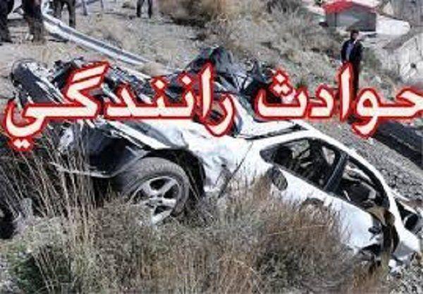 ۳ مصدوم پی حادثه رانندگی در گلستان
