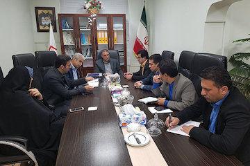 دیدار شهردار و اعضای شورای شهر سرخنکلاته با مدیرکل راه و شهرسازی استان گلستان