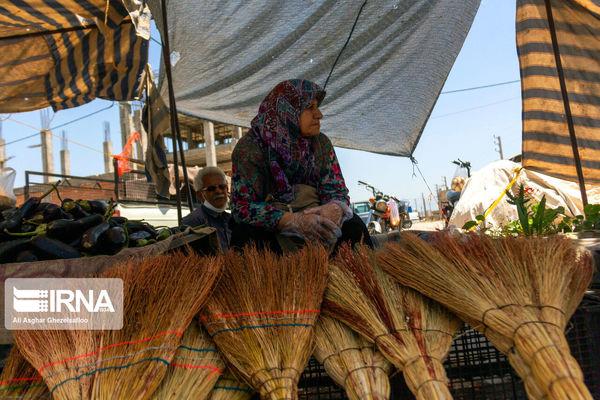 کرونا بازار هفتگی غرب گلستان را تعطیل کرد