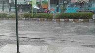 تداوم بارش باران در مناطق شرقی گلستان تا صبح فردا